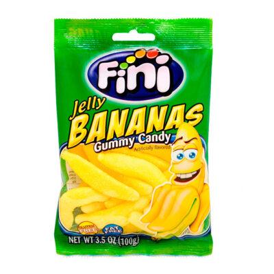 Gominolas Fini Bananas 80 gr   Confisur Cash & Carry