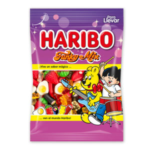 Gominolas Funky Mix Haribo 100 gr | Confisur Cash & Carry