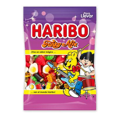 Gominolas Funky Mix Haribo 100 gr   Confisur Cash & Carry