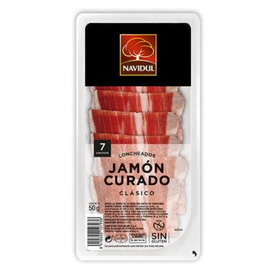 Jamón curado Navidul 50 gr   Confisur Cash & Carry