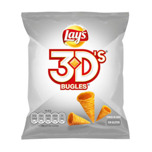 Conos de maíz Lay's 3D's Bugles | Confisur Cash & Carry