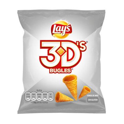 Conos de maíz Lay's 3D's Bugles | Confisur Cash & Carry