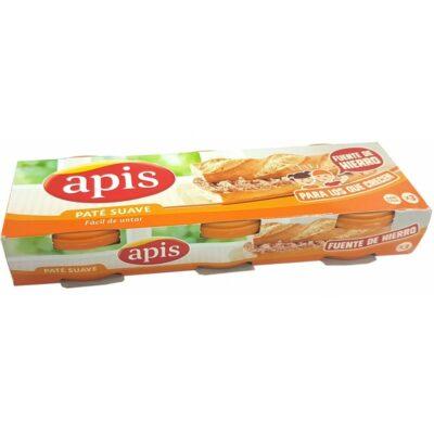 Paté Apis pack 3 latas   Confisur Cash & Carry
